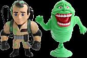 "Ghostbusters - Peter Venkman & Slimer 4"" Metals Die-Cast Action Figure 2-Pack Main Image"