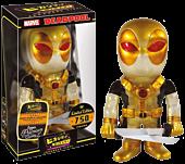 Deadpool Black & Gold Glitter Japanese Vinyl Figure