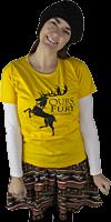 Game of Thrones - Baratheon House Sigil Yellow Female T-Shirt