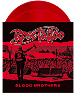 Rose Tattoo - Blood Brothers 2xLP Vinyl Record (Blood Red Coloured Vinyl)