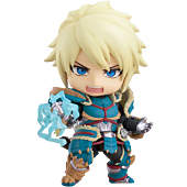 "Monster Hunter World: Iceborn - Male Zinogre Alpha Armor Ver. Deluxe 4"" Nendoroid Action Figure"