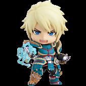"Monster Hunter World: Iceborn - Male Zinogre Alpha Armor Ver. Deluxe 4"" Nendoroid Action Figure"