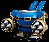 "Mega Man X - Rabbit Ride Armour 4"" Nendoroid Action Figure Accessory"