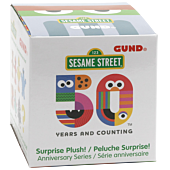 "Sesame Street - 50th Anniversary 3"" Plush Series 2 Blind Box (Single Unit)"