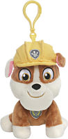 """Paw Patrol - Rubble 5"""" Backpack Clip-On Plush"""