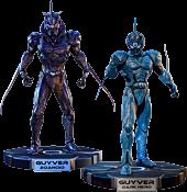 Guyver: Dark Hero - Guyver & Guyver Zoanoid 1/3 Scale Cinemaquette Statue Bundle (Set of 2)