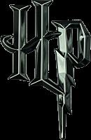 Harry Potter - Harry Potter Logo 3D Black Chrome Premium Emblem