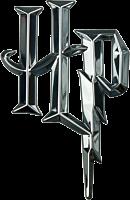 Harry Potter - Harry Potter Logo 3D Chrome Premium Emblem