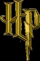 Harry Potter - Harry Potter Logo 3D Gold Chrome Premium Emblem