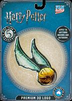 Harry Potter - Golden Snitch Logo Lensed Emblem