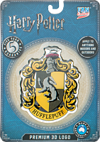 Harry Potter - Hufflepuff Logo Lensed Emblem