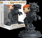 Harry Potter - Ron Weasley Riding Chess Piece Movie Moments Funko Pop! Vinyl Figure
