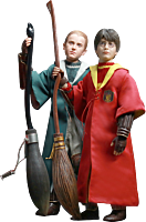 Harry and Draco Quidditch 1/6th Scale Action Figure Twin Pack