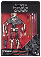 "Star Wars Episode III: Revenge of the Sith - General Grievous 6"" Black Series Action Figure"