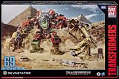 """Transformers: Revenge of the Fallen - Devastator Constructicon Combiner Studio Series 14"""" Action Figure"""