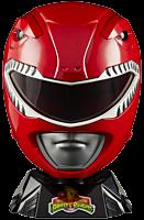 Mighty Morphin Power Rangers - Red Ranger Lightning Premium Collection 1:1 Scale Life-Size Helmet Prop Replica