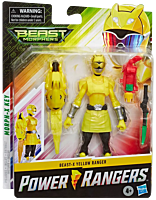 """Saban's Power Rangers - Beast-X Mode Yellow Ranger 6"""" Action Figure"""