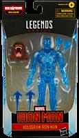 "Iron Man - Hologram Iron Man Marvel Legends 6"" Action Figure"