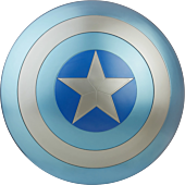 Captain America 2: The Winter Soldier - Captain America Stealth Shield Marvel Legends Series 1:1 Scale Life Size Prop Replica