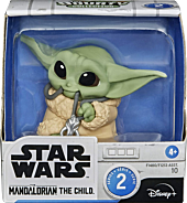 "Star Wars: The Mandalorian - Baby Yoda Necklace 2.5"" Baby Bounties Mini Figure"