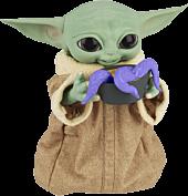"Star Wars: The Mandalorian - Galactic Snackin' Grogu (The Child) 9"" Animatronic Figure"