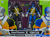"""Mighty Morphin Power Rangers / Teenage Mutant Ninja Turtles - Morphed Donatello and Morphed Leonardo Lightning Collection 6"""" Scale Action Figure 2-Pack"""
