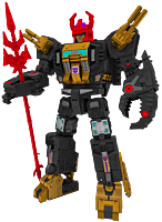 "Transformers: Generations - Black Zarak War for Cybertron Exclusive 21"" Action Figure"