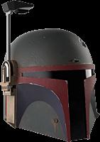 Star Wars: The Mandalorian - Boba Fett Premium Electronic The Black Series 1:1 Scale Life-Size Helmet Replica