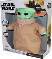 "Star Wars: The Mandalorian - Baby Yoda (The Child) 13"" Life-Size Talking Plush"
