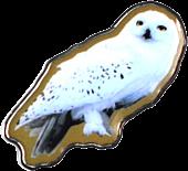 Harry Potter - Hedwig Enamel Badge | Popcultcha