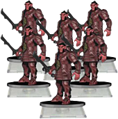Dungeons and Dragons - Attack Wing Hobgoblin Troop Expansion (Wave 1)