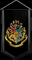 Hogwarts Satin Banner
