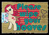 My Little Pony - Please Wipe Your Hooves Doormat | Popcultcha