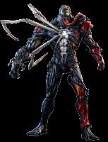 Spider-Man: Maximum Venom - Venomized Iron Man 1/6th Scale Hot Toys Action Figure