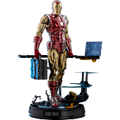 Iron Man - Iron Man The Origins Collection Deluxe 1/6th Scale Die-Cast Hot Toys Action Figure