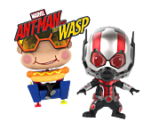 Ant-man and the Wasp - Ant-Man & Movbi Cosbaby Hot Toys Bobble-Head Figure 2-Pack