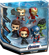 Avengers 4: Endgame - 2012 Avengers (S) Hot Toys Figure 6-Pack