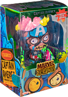 Marvel Zombies - Captain America Fluorescent Cosbaby (S) Hot Toys Figure