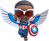 The Falcon and the Winter Soldier - Captain America Cosbaby (S) Hot Toys Figure