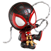 Marvel's Spider-Man: Miles Morales - Miles Morales Bodega Cat Suit Cosbaby (S) Hot Toys Figure
