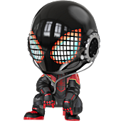 Marvel's Spider-Man: Miles Morales - Miles Morales 2020 Suit Cosbaby (S) Hot Toys Figure