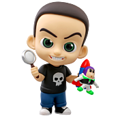 Toy Story - Sid Cosbaby (S) Hot Toys Figure