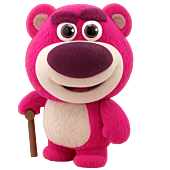 Toy Story - Lotso Velvet Hair Version Cosbaby (S) Hot Toys Figure