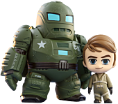 Marvel: What If…? - The Hydra Stomper & Steve Rogers Cosbaby (S) Hot Toys Figure