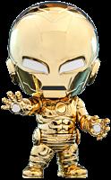 Iron Man - Iron Man Metallic Gold Armour Cosbaby (S) Hot Toys Figure