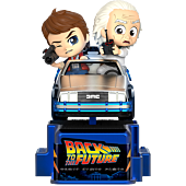 Back to the Future - Marty McFly & Doc Brown CosRider Hot Toys Figure