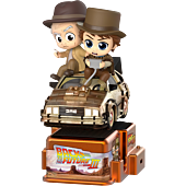 Back to the Future Part III - Marty McFly & Doc Brown CosRider Hot Toys Figure