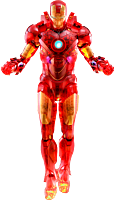 Iron Man 2 - Iron Man Mark IV Holographic Version 1/6th Scale Hot Toys Action Figure (2020 Toy Fair Exclusive)
