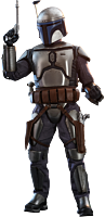 Star Wars Episode II: Attack of the Clones - Jango Fett 1/6th Scale Hot Toys Action Figure