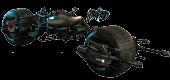 Batman: The Dark Knight Rises - Bat-Pod 1/6th Scale Hot Toys Action Figure Vehicle Accessory